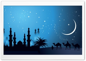Arabian Night Design HD Wide Wallpaper for Widescreen