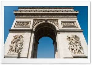 Arc De Triomphe   Paris HD Wide Wallpaper for Widescreen