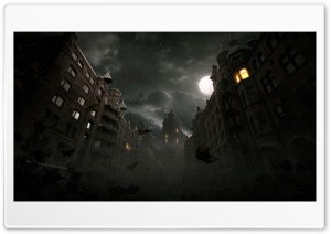 Arcane Nights HD Wide Wallpaper for Widescreen