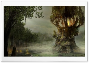 Arcania Gothic 4 Swamp HD Wide Wallpaper for Widescreen