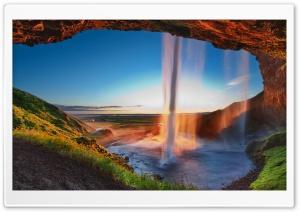 Arch Waterfall Ultra HD Wallpaper for 4K UHD Widescreen desktop, tablet & smartphone