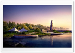 Architectural Concept HD Wide Wallpaper for Widescreen