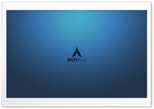 Archlinux Logo HD Wide Wallpaper for Widescreen