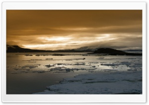 Arctic Sunrise HD Wide Wallpaper for Widescreen