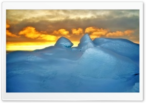 Arctic Sunset HD Wide Wallpaper for Widescreen