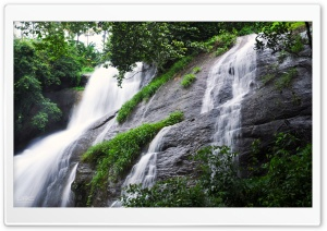 Areekkal Waterfall HD Wide Wallpaper for Widescreen