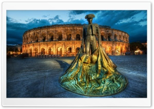 Arena of Nimes HD Wide Wallpaper for Widescreen