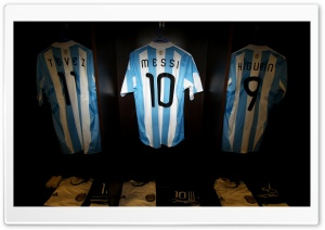 Argentina National Team Shirts Ultra HD Wallpaper for 4K UHD Widescreen desktop, tablet & smartphone