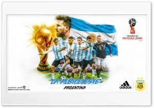 ARGENTINA WORLD CUP 2018 HD Wide Wallpaper for 4K UHD Widescreen desktop & smartphone