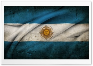 Argentinian Flag HD Wide Wallpaper for Widescreen