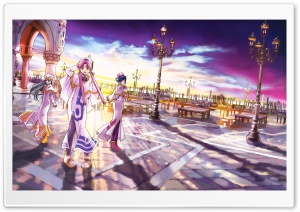 Aria Fantasy Manga HD Wide Wallpaper for 4K UHD Widescreen desktop & smartphone