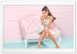 Ariana Grande Photoshot HD Wide Wallpaper for 4K UHD Widescreen desktop & smartphone