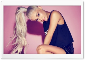 Ariana Grande Ponytail Ultra HD Wallpaper for 4K UHD Widescreen desktop, tablet & smartphone