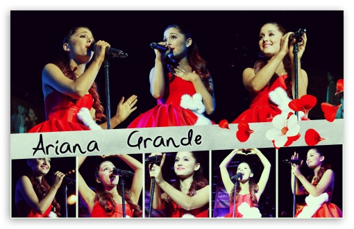 Ariana Grande Singing HD wallpaper for Wide 16:10 5:3 Widescreen WHXGA WQXGA WUXGA WXGA WGA ; Standard 3:2 Fullscreen DVGA HVGA HQVGA devices ( Apple PowerBook G4 iPhone 4 3G 3GS iPod Touch ) ; Mobile 5:3 3:2 - WGA DVGA HVGA HQVGA devices ( Apple PowerBook G4 iPhone 4 3G 3GS iPod Touch ) ;