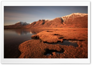 Arid Lake Area HD Wide Wallpaper for Widescreen