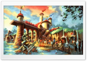 Ariel's Adventure HD Wide Wallpaper for Widescreen