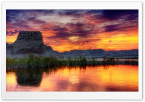 Arizona Lake HD Wide Wallpaper for Widescreen