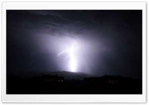 Arizona Lightning HD Wide Wallpaper for Widescreen