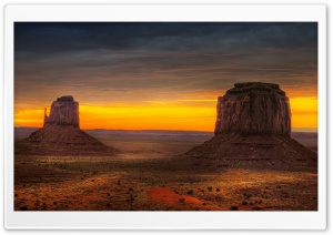 Arizona Monument Valley HD Wide Wallpaper for Widescreen