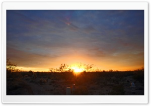 Arizona Sunset HD Wide Wallpaper for Widescreen