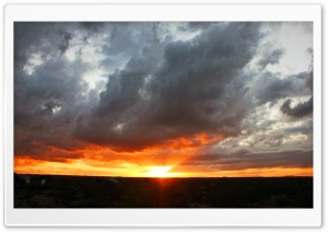 Arizona Sunset 2 HD Wide Wallpaper for Widescreen