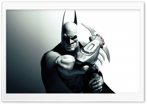 Arkham City - The Dark Knight HD Wide Wallpaper for Widescreen