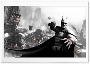 Arkham City Batman HD Wide Wallpaper for Widescreen