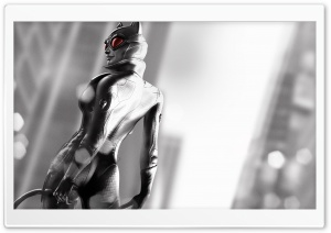 Arkham City Catwoman HD Wide Wallpaper for Widescreen