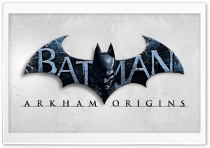 Arkham Origin-BatLogo HD Wide Wallpaper for Widescreen