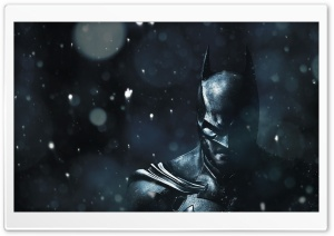 Arkham Origins Winter HD Wide Wallpaper for Widescreen