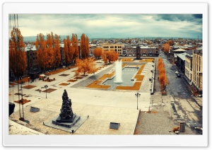 Armenia, Gyumri HD Wide Wallpaper for Widescreen