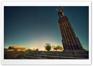 Armenia, Gyumri, Mother Armenia, Hayk Barseghyans HD Wide Wallpaper for 4K UHD Widescreen desktop & smartphone