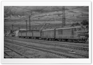 Armenia, Gyumri, Train HD Wide Wallpaper for Widescreen