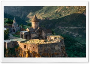 Armenia, Syunik, Tatev, Sunrise, Hayk B Ultra HD Wallpaper for 4K UHD Widescreen desktop, tablet & smartphone