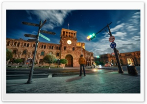 Armenia, Yerevan, Hraparak, Hayk Barseghyans HD Wide Wallpaper for Widescreen