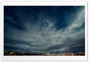 Armenia, Yerevan, Night Sky, Hayk Barseghyans HD Wide Wallpaper for Widescreen