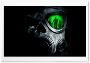 Army Gas Mask HD Wide Wallpaper for Widescreen