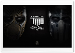 Army of Two---EA game 2013 HD Wide Wallpaper for Widescreen