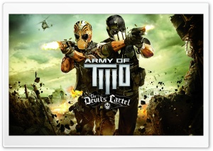 Army of Two: The Devil's Cartel HD Wide Wallpaper for 4K UHD Widescreen desktop & smartphone