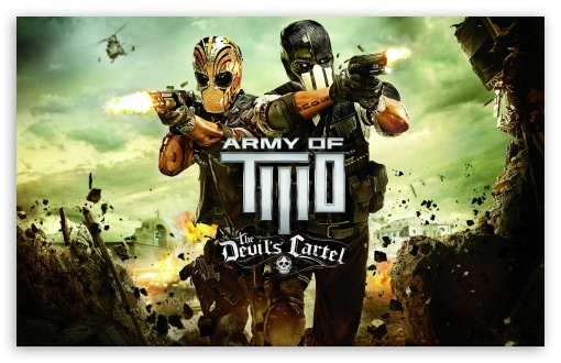 Army of Two: The Devil's Cartel HD wallpaper for Wide 16:10 5:3 Widescreen WHXGA WQXGA WUXGA WXGA WGA ; HD 16:9 High Definition WQHD QWXGA 1080p 900p 720p QHD nHD ; Standard 4:3 5:4 3:2 Fullscreen UXGA XGA SVGA QSXGA SXGA DVGA HVGA HQVGA devices ( Apple PowerBook G4 iPhone 4 3G 3GS iPod Touch ) ; Tablet 1:1 ; iPad 1/2/Mini ; Mobile 4:3 5:3 3:2 16:9 5:4 - UXGA XGA SVGA WGA DVGA HVGA HQVGA devices ( Apple PowerBook G4 iPhone 4 3G 3GS iPod Touch ) WQHD QWXGA 1080p 900p 720p QHD nHD QSXGA SXGA ;
