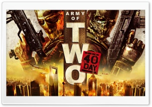 Army Of Two The 40th Day HD Wide Wallpaper for Widescreen