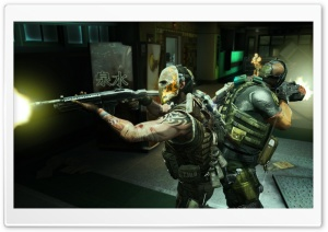 Army Of Two The 40th Day Screenshot HD Wide Wallpaper for Widescreen