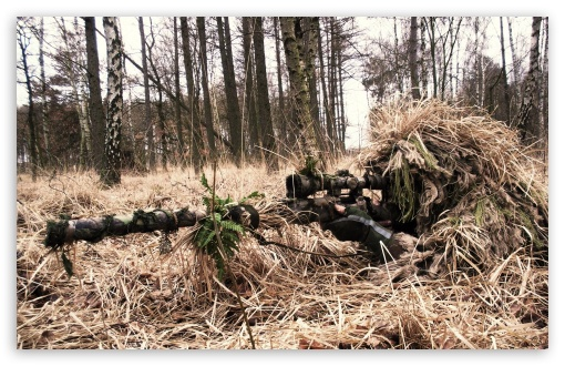 Army Sniper UltraHD Wallpaper for Wide 16:10 Widescreen WHXGA WQXGA WUXGA WXGA ;