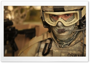Army Soldier HD Wide Wallpaper for Widescreen