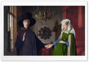 Arnolfini Portrait By Jan Van Eyck Ultra HD Wallpaper for 4K UHD Widescreen desktop, tablet & smartphone