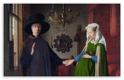 Arnolfini Portrait By Jan Van Eyck UltraHD Wallpaper for Wide 16:10 5:3 Widescreen WHXGA WQXGA WUXGA WXGA WGA ; 8K UHD TV 16:9 Ultra High Definition 2160p 1440p 1080p 900p 720p ; Standard 4:3 5:4 3:2 Fullscreen UXGA XGA SVGA QSXGA SXGA DVGA HVGA HQVGA ( Apple PowerBook G4 iPhone 4 3G 3GS iPod Touch ) ; Smartphone 5:3 WGA ; Tablet 1:1 ; iPad 1/2/Mini ; Mobile 4:3 5:3 3:2 16:9 5:4 - UXGA XGA SVGA WGA DVGA HVGA HQVGA ( Apple PowerBook G4 iPhone 4 3G 3GS iPod Touch ) 2160p 1440p 1080p 900p 720p QSXGA SXGA ; Dual 16:10 5:3 16:9 4:3 5:4 WHXGA WQXGA WUXGA WXGA WGA 2160p 1440p 1080p 900p 720p UXGA XGA SVGA QSXGA SXGA ;