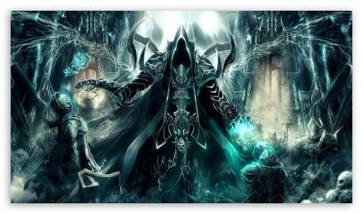 Diablo 3 Reaper Of Souls Wallpapers: Art Diablo Iii Reaper Of Souls Malthael 4K HD Desktop