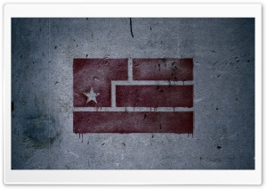 Art Is Resistance Flag Graffiti HD Wide Wallpaper for 4K UHD Widescreen desktop & smartphone