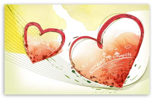 Art Painting Of Valentine Heart HD wallpaper for Wide 16:10 5:3 Widescreen WHXGA WQXGA WUXGA WXGA WGA ; HD 16:9 High Definition WQHD QWXGA 1080p 900p 720p QHD nHD ; Standard 4:3 3:2 Fullscreen UXGA XGA SVGA DVGA HVGA HQVGA devices ( Apple PowerBook G4 iPhone 4 3G 3GS iPod Touch ) ; iPad 1/2/Mini ; Mobile 4:3 5:3 3:2 16:9 - UXGA XGA SVGA WGA DVGA HVGA HQVGA devices ( Apple PowerBook G4 iPhone 4 3G 3GS iPod Touch ) WQHD QWXGA 1080p 900p 720p QHD nHD ;