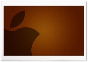 Art Style Apple Logo HD Wide Wallpaper for Widescreen